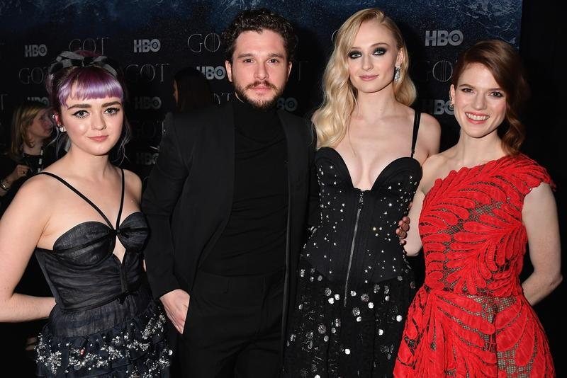 Game of Thrones Cast Present at 2019 Emmy Awards