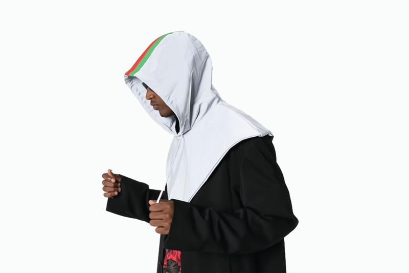Gucci 3M Reflective Stripe Drawstring Rain Hood release where to buy price 2019