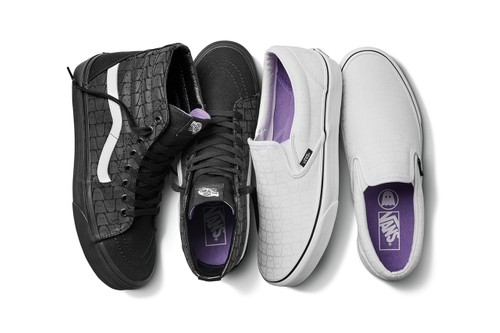 Vans Celebrates Ghostly International's 20th Anniversary With Special Sneakers