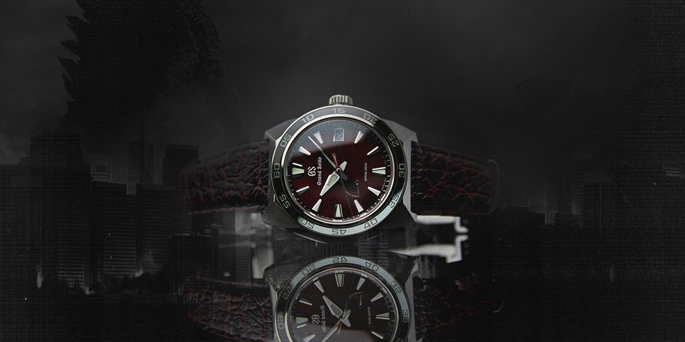 The Latest Grand Seiko Timepiece Honors Godzilla's Most Iconic Moment