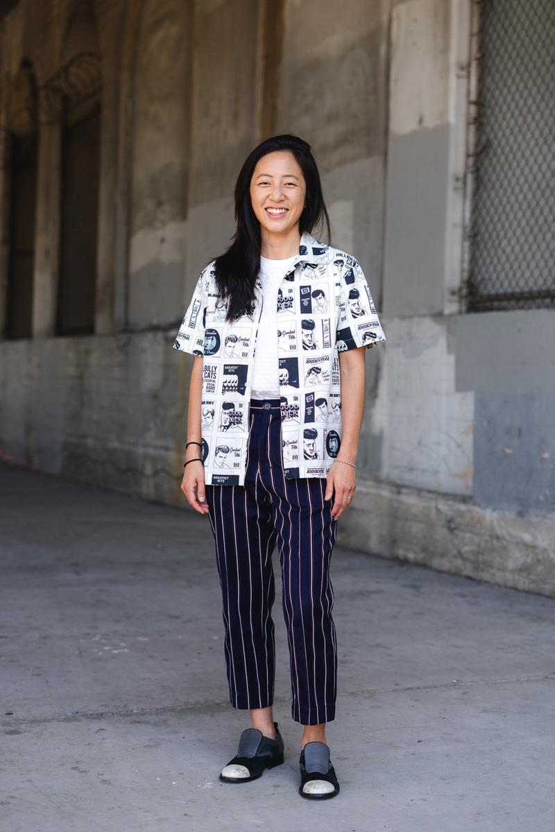 Goodfight Team Streetsnaps Style Interview pop up fall winter 2019 familiar piety collection new york feature staff designer Co-founders Caleb Lin Christina Chou Creative Director Julia Chu Calvin Nguyen