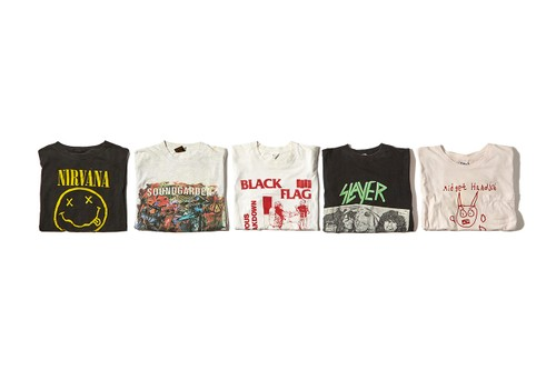 Goodhood Enlists Teejeker & Image Club LTD for Vintage Band T-Shirt Exhibition & Sale