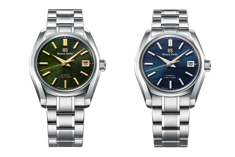 Grand Seiko Japanese Seasons Tribute Collection 24 fall spring summer winter watches accessories culture heritage history