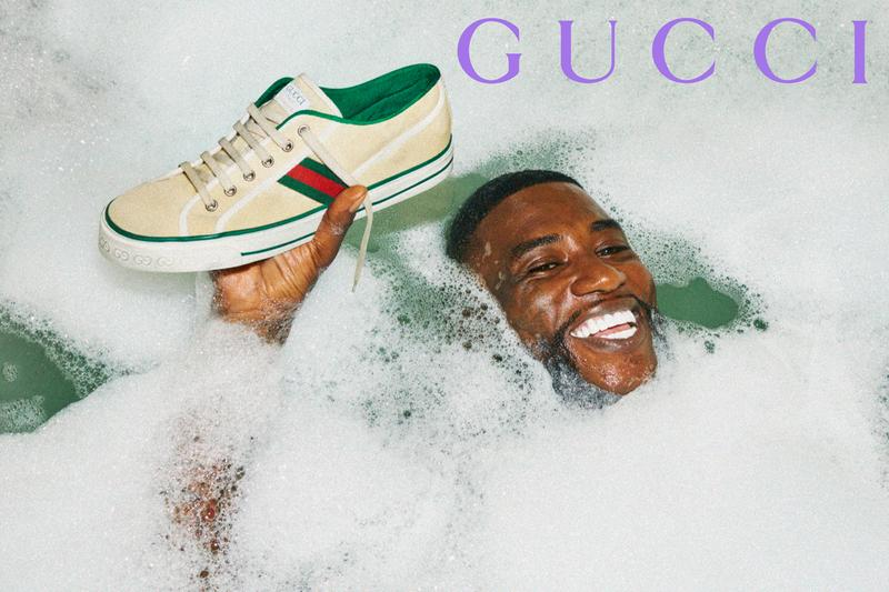 Gucci Mane Gucci Cruise Collaboration collection Album Cover Announcement woptober 2 alessandro michele october 17 release date