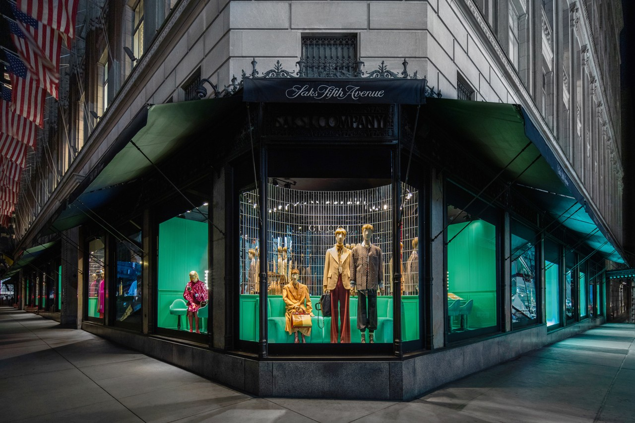 Gucci and Saks Partner on Exclusive