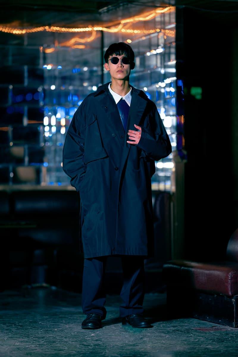 "Guerrilla Group FW19 ""ENDLESS RAIN"" Lookbook collection techwear technical apparel streetwear taiwanese brand retrofuture DYNEEMA CORDURA PROTEC THERMOTRON XPAC fabrics Swedish M90 Camouflage 3l fabrics waterproof asian crime cinema dystopia"