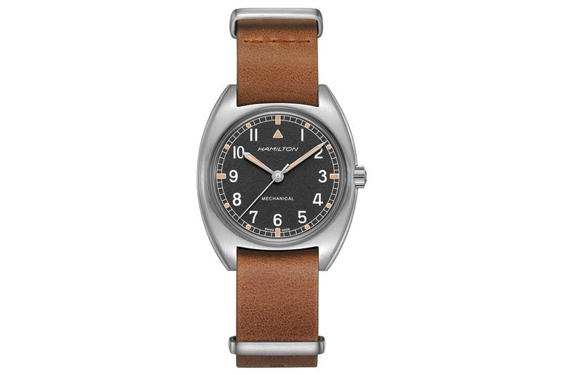 Hamilton Khaki Pilot Pioneer Mechanical Release W10 british military 1970s watches timepiece accessories