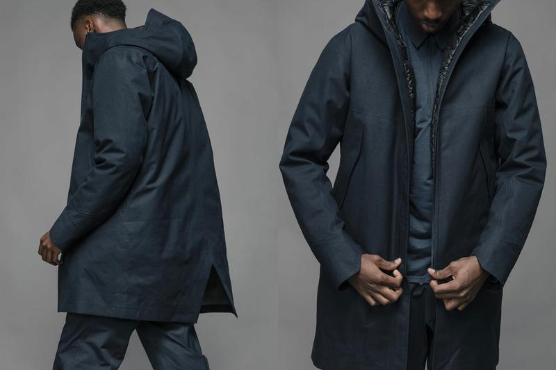 HAVEN Veilance FW19 Editorial Outerwear outdoors urban goretex corefit vancouver arc teryx technical functional essentials city windproof waterproof