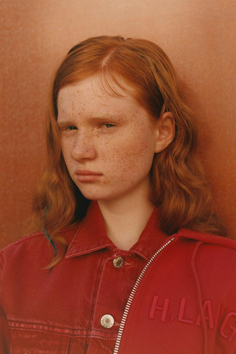 helmut lang redheads fall winter 2019 jeans denim ready to wear buy cop purchase portraits short film web store