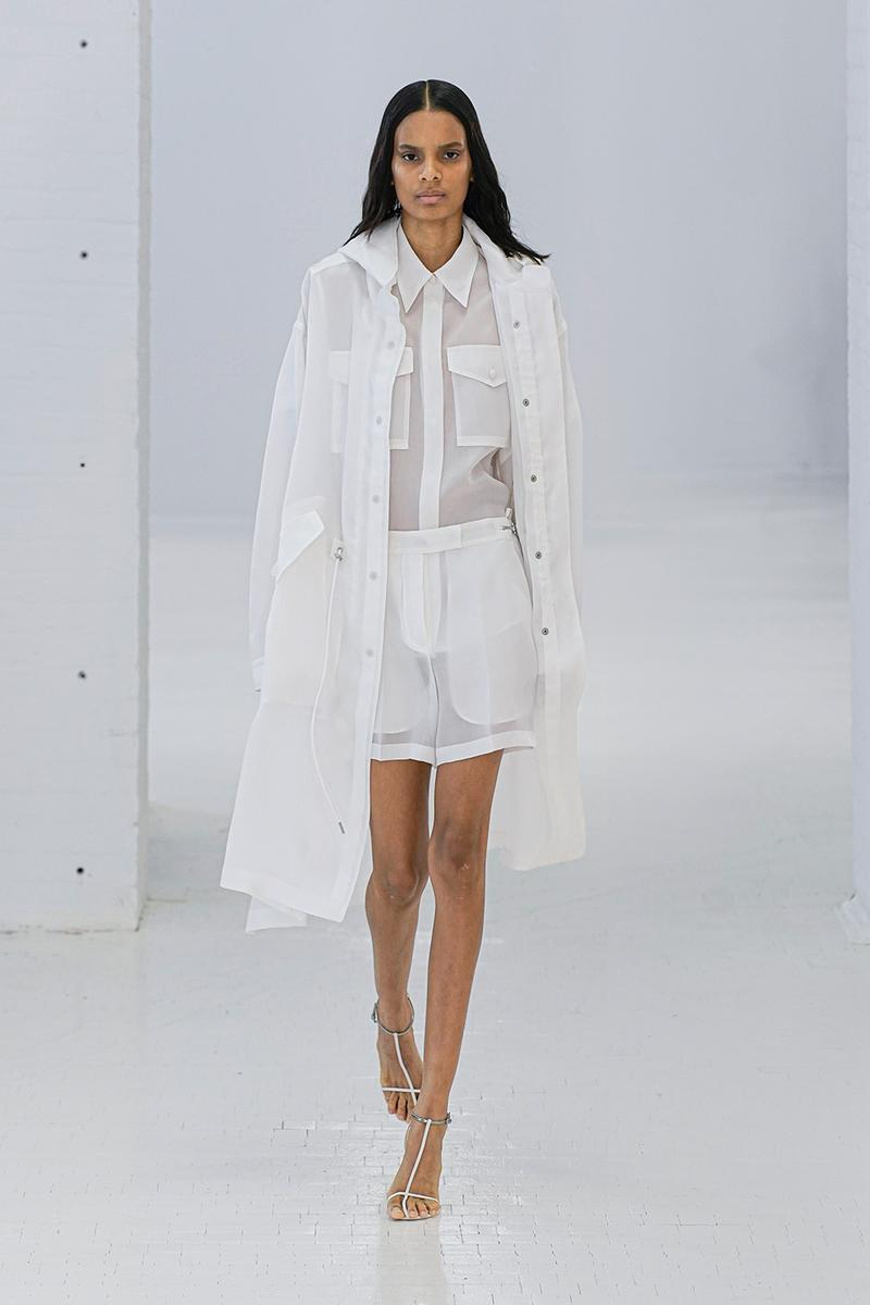 Helmut Lang SS20 Runway Collection New York Fashion Week NYFW Unisex Men Women MARK THOMAS Spring/Summer 2020 outerwear denim jeans translucent pieces