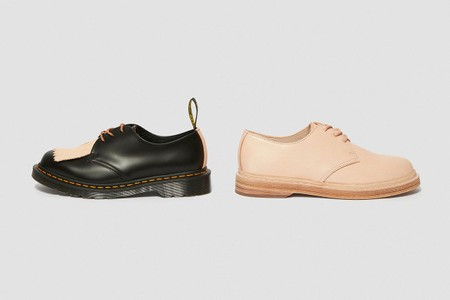 Dr. Martens Recruits Hender Scheme for Veg-Tanned Leather Derbies