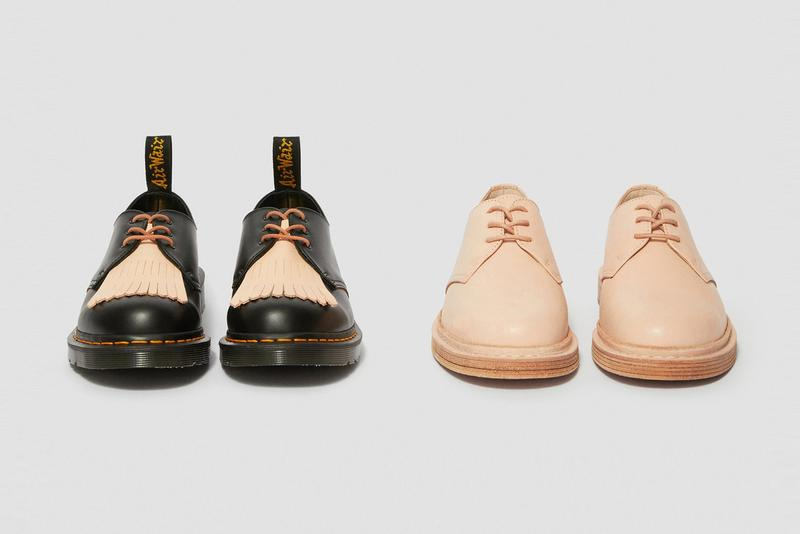 Hender Scheme x Dr. Martens 1461 Collaboration Shoes Manual Industrial Products 21 release date info buy colorway drop japan september 10 28 2019 pre order web store site