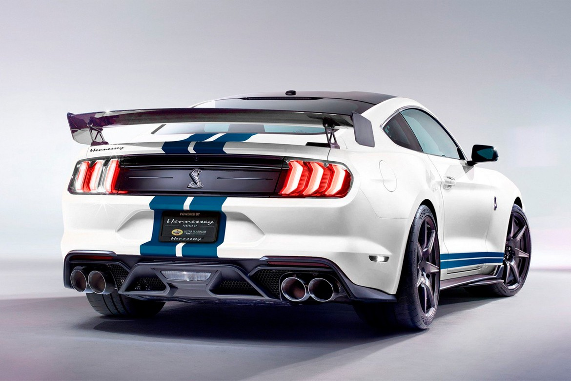 Hennessey 2020 Ford Mustang Shelby Gt500 1 200 Horsepower Upgrade