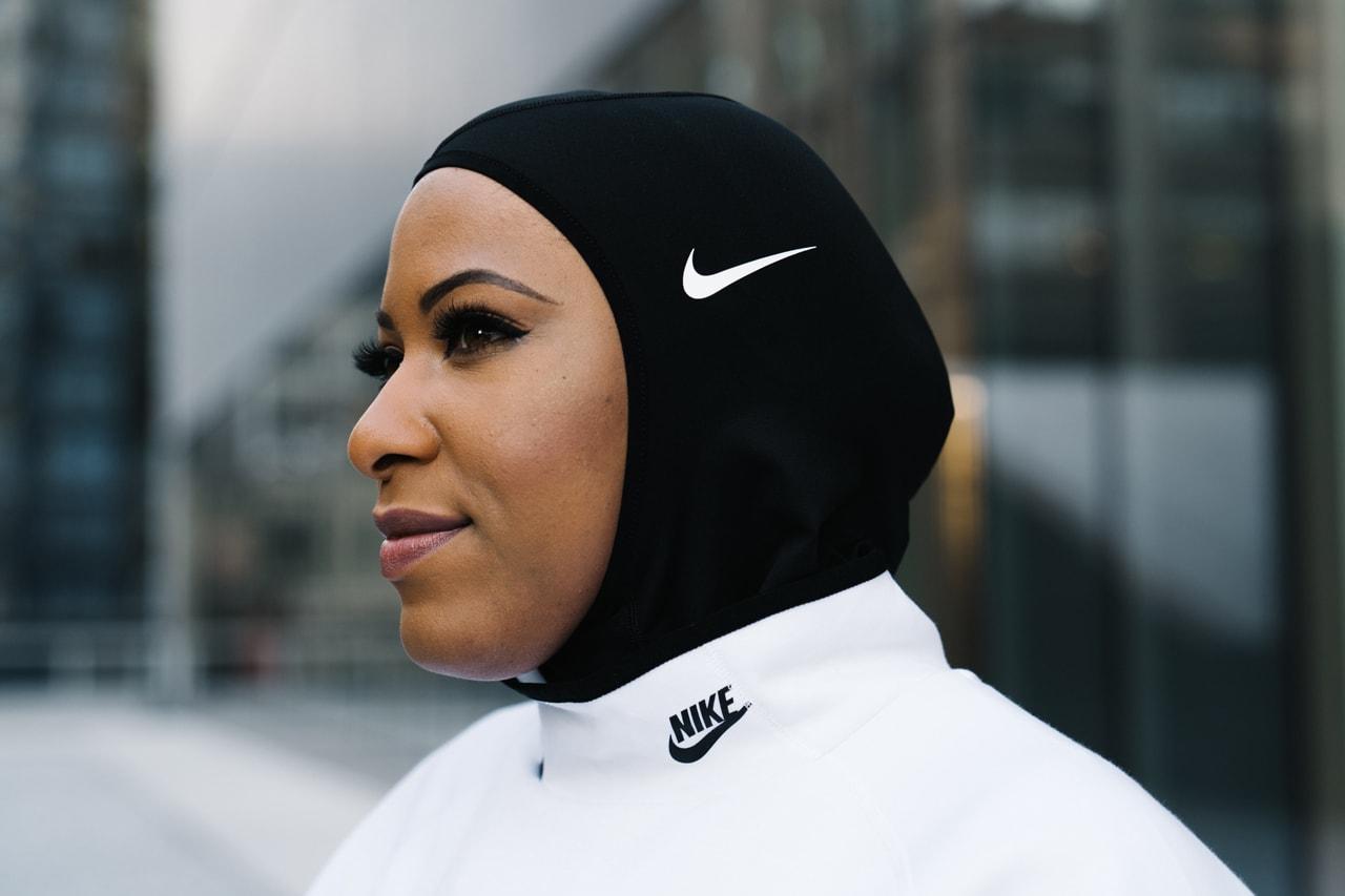 ibtihaj muhammad style nike pro hijab zero carbon sustainble sustainability fashion louella giving back to community climate change action air max 720 neon green streetsnaps interview