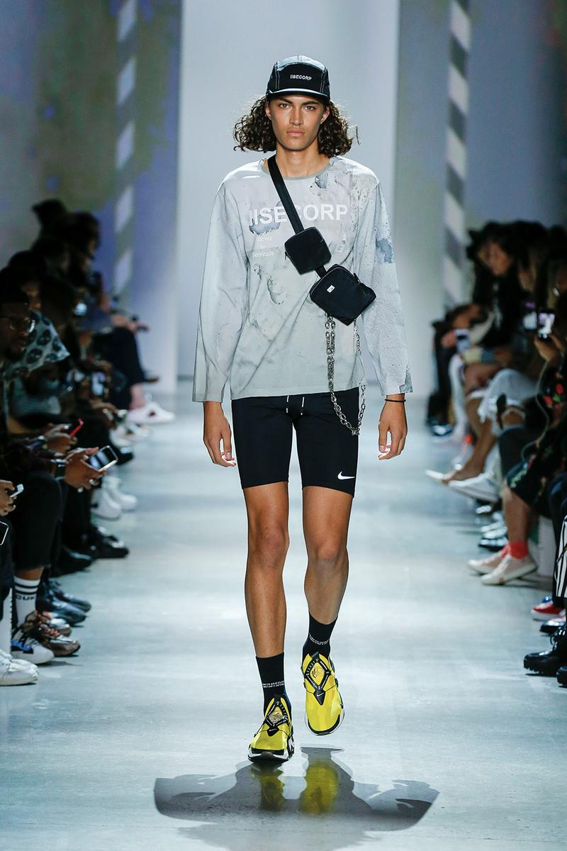 IISE Spring/Summer 2020 Runway Collection NYFW New York Fashion Week brand streetwear contemporary menswear unisex cctv prints street fashion chaebol conglomerate concept korea terrence kevin kim