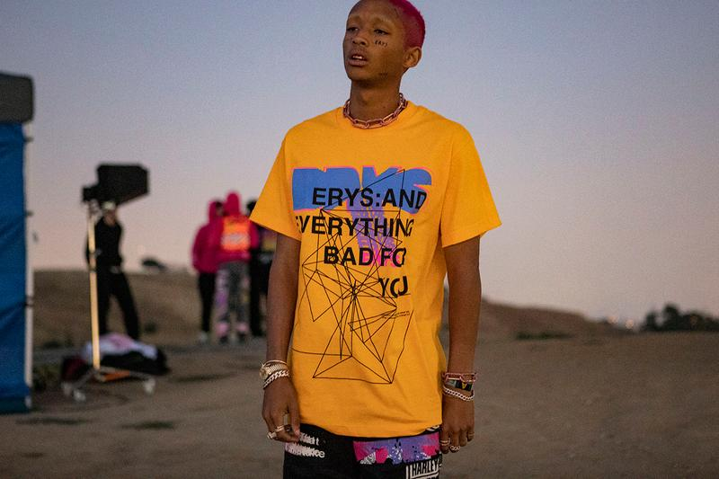 jaden smith erys merch pop up selfridges PRESENTS: EVERYTHING BAD FOR YOU MSFTS Trippy Summer new balance levi's buy cop purchase tickets the bowl centrepoint charity