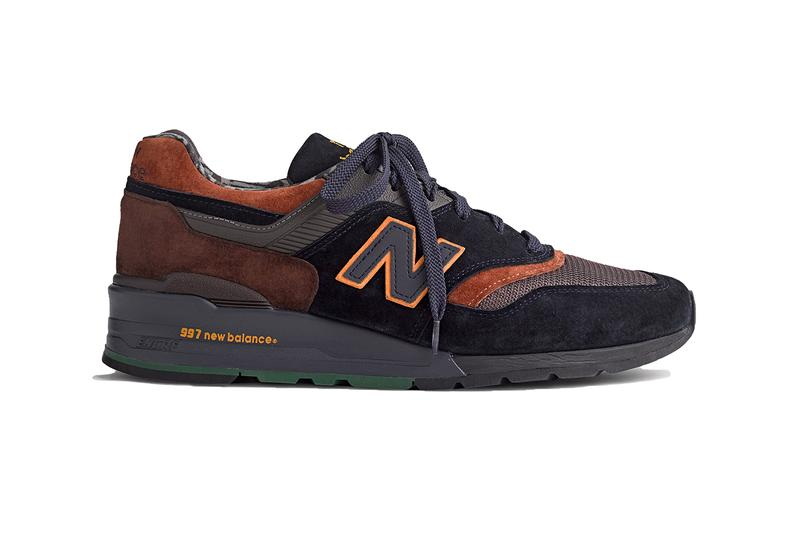 J. Crew New Balance Suede Wild Nature 997 Pack Grizzly Bear Rattlesnake North America Animals Collaboration