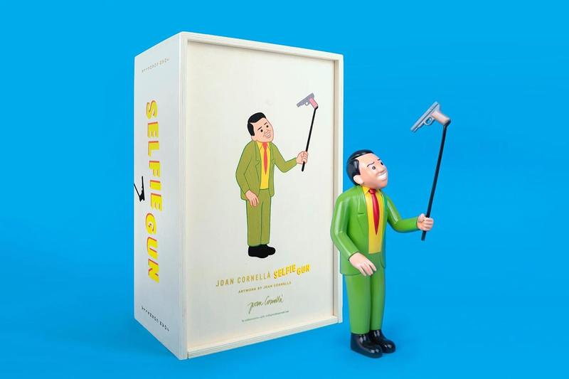 joan cornella selfie gun bronze sculpture release artworks allrightsreserved editions