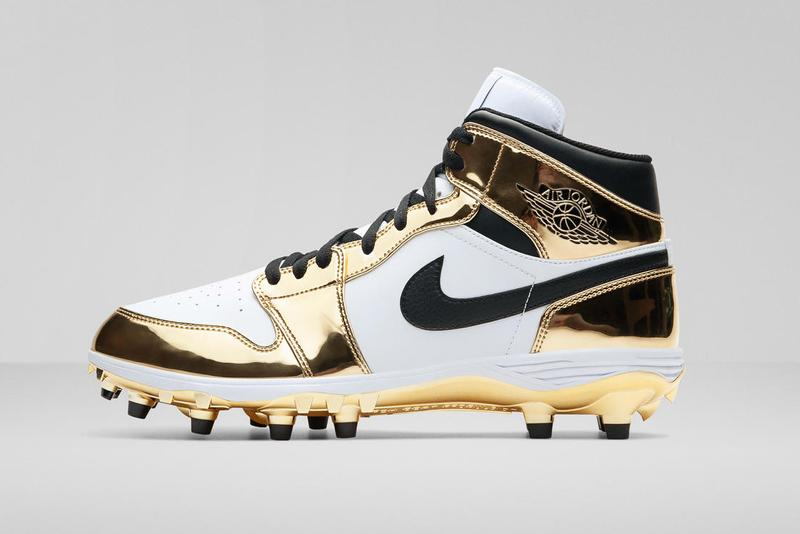 Jordan Brand Reveals Air Jordan 1 PEs for the NFL football nike boots cleats Tyrann Mathieu of the Kansas City Chiefs, Earl Thomas of the Baltimore Ravens, Alshon Jeffery of the Philadelphia Eagles, Michael Thomas of the New Orleans Saints, and Le'Veon Bell of the New York Jets