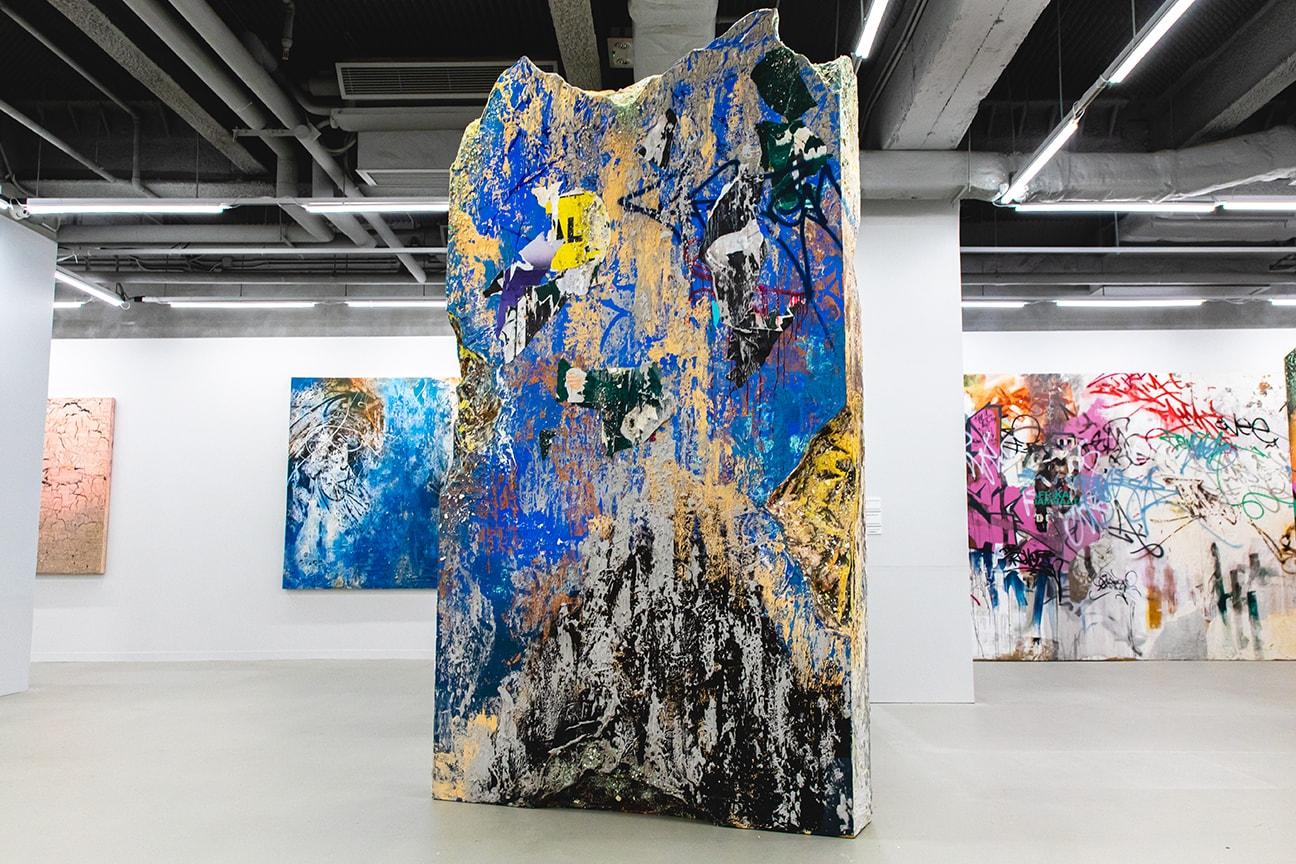 Jose Parla Textures of Memory Exhibition Recap Hypebeast