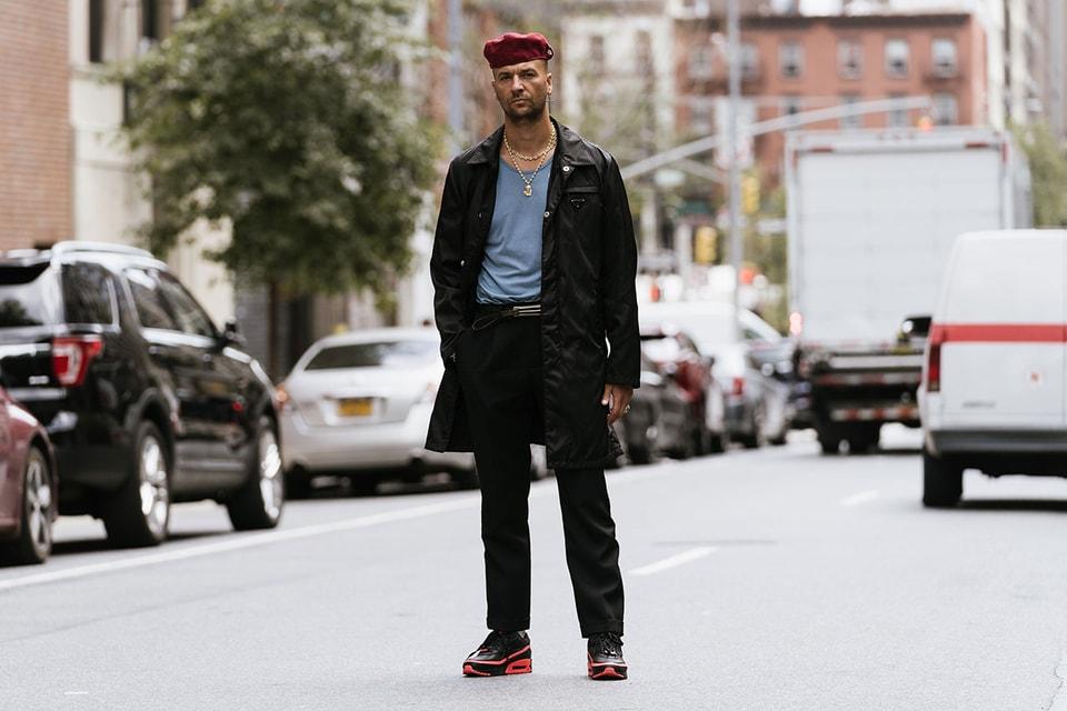 """Streetsnaps Diary: Julien """"Bleu Mode"""" Boudet"""