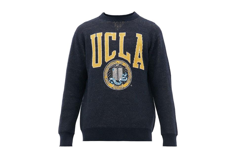Junya Watanabe's $950 USD UCLA Logo Sweater Is for Die-Hard Alumni