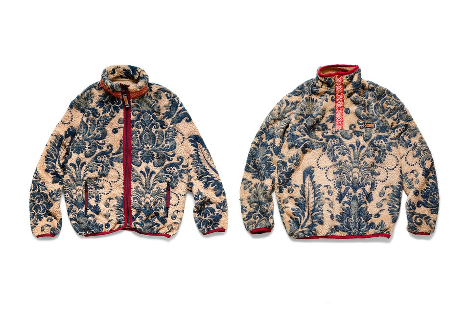 KAPITAL Emblazons Intricate Damask Patterns Over Two FW19 Jackets