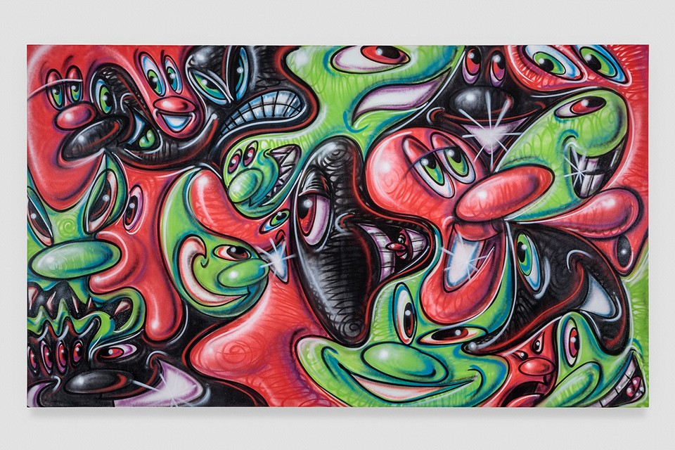 """Kenny Scharf Tackles Environmental Issues In """"Optimistically Melting!"""" Exhibition"""