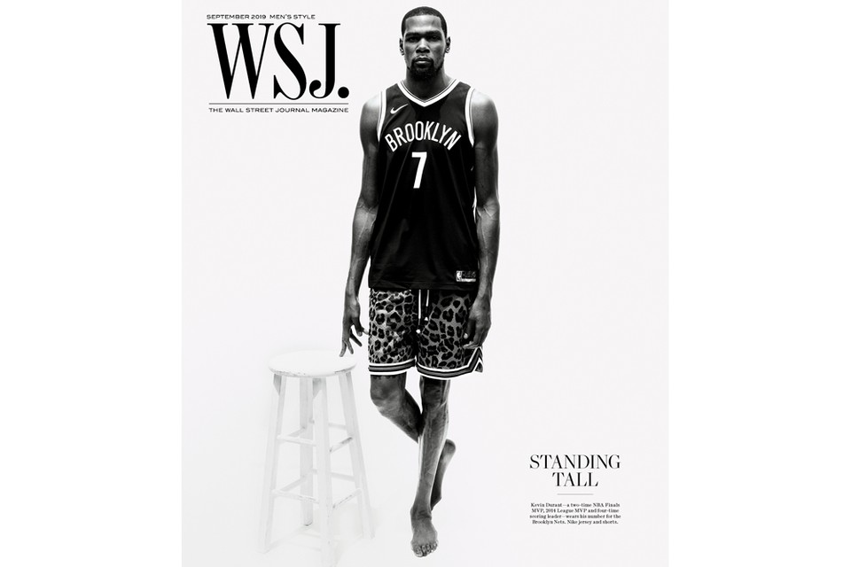 Kevin Durant Covers Wsj Magazine Men S Style Issue Hypebeast