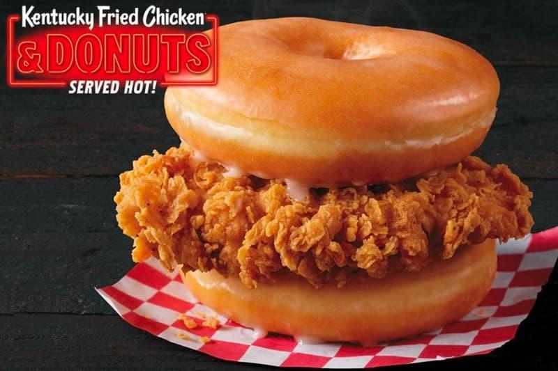 KFC Chicken Donuts Select Locations Test Sandwich Info Buy Where Near Me Glazed