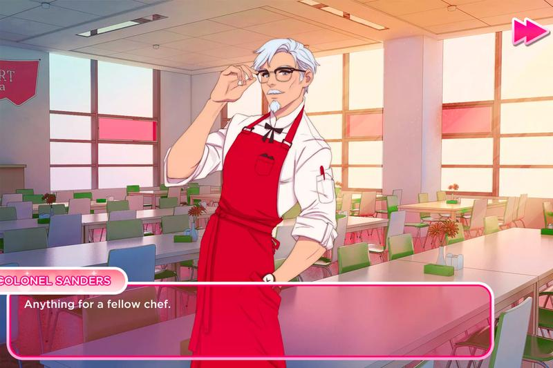 Kfc I Love You Colonel Sanders! A Finger Lickin' Good Dating Simulator Release info Date