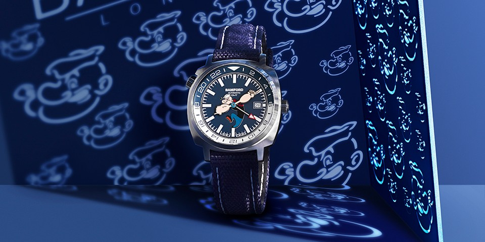 Bamford London Celebrates 90 Years of 'Popeye' With Limited-to-50 GMT Watch