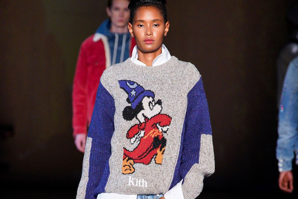 KITH FW19 Runway Flexed Collabs With 'Vogue,' Disney & More