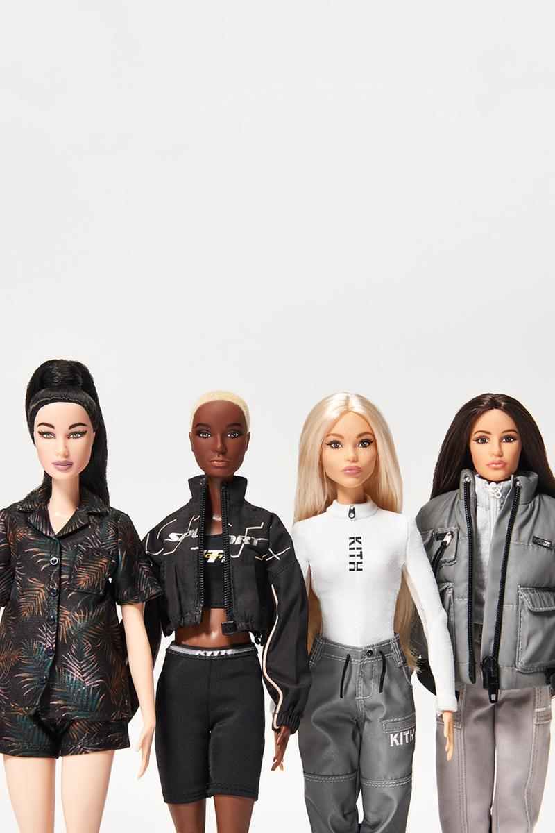 KITH Women x Barbie Doll Collaboration Exhibition retrospective contest announce details tee shirt clothing september 21 2019