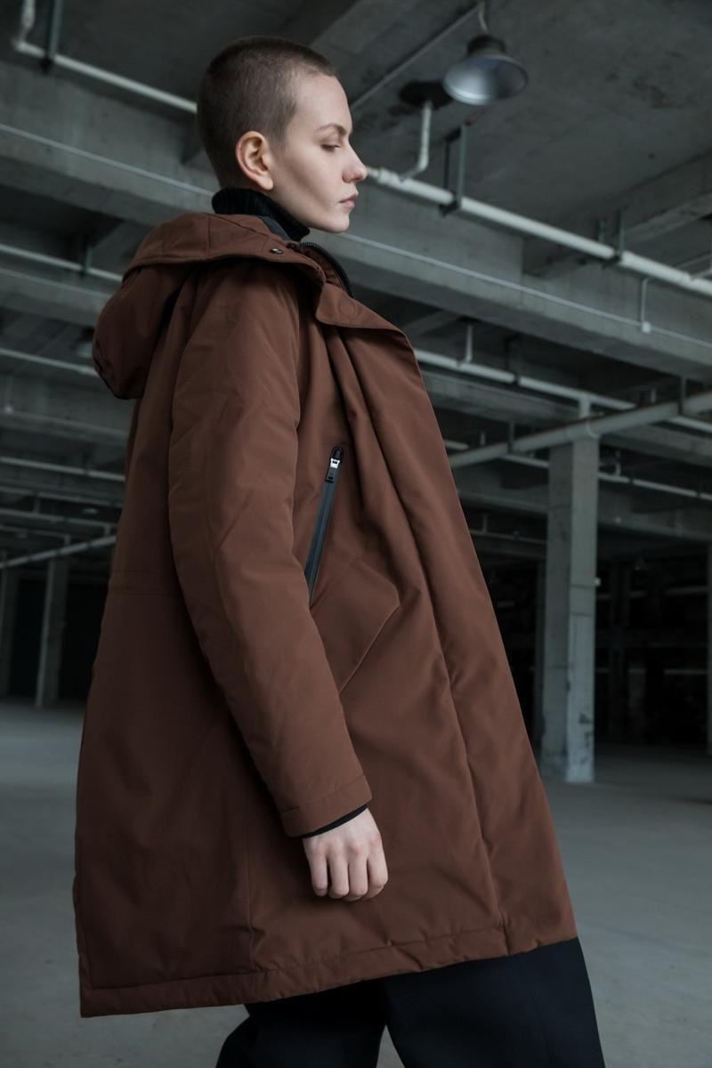 KRAKATAU Fall/Winter 2019 Collection Lookbook Jackets Parkas Coats Graphene Technology Black Green Purple Yellow Brown Camouflage