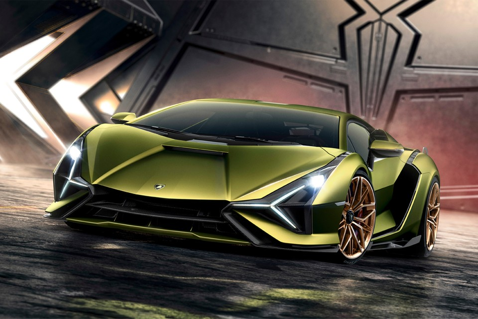 Lamborghini Debuts First-Ever Sian Hybrid Supercar