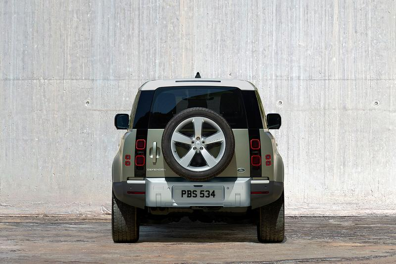 Land Rover Defender 2020 First Look Official Release Automotive News Classic 4x4 Update British Engineering Off Road Car 400 BHP New Design 70 Years Heritage
