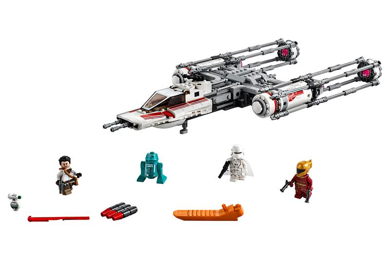 LEGO Announcement Star Wars The Rise of Skywalker The Mandalorian Kits Kylo Ren Shuttle