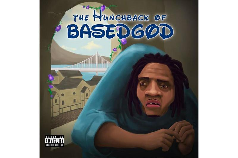 Lil B 'The Hunchback Of BasedGod' Mixtape Stream listen now apple music spotify Clams Casino, Keyboard Kid, Uptown Greg produced rap hip-hop cloudrap
