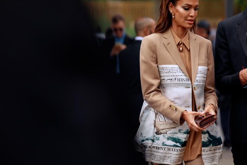 London Fashion Week Spring Summer 2020 Street Style runways catwalks burberry chanel riccardo tisci jorja smith