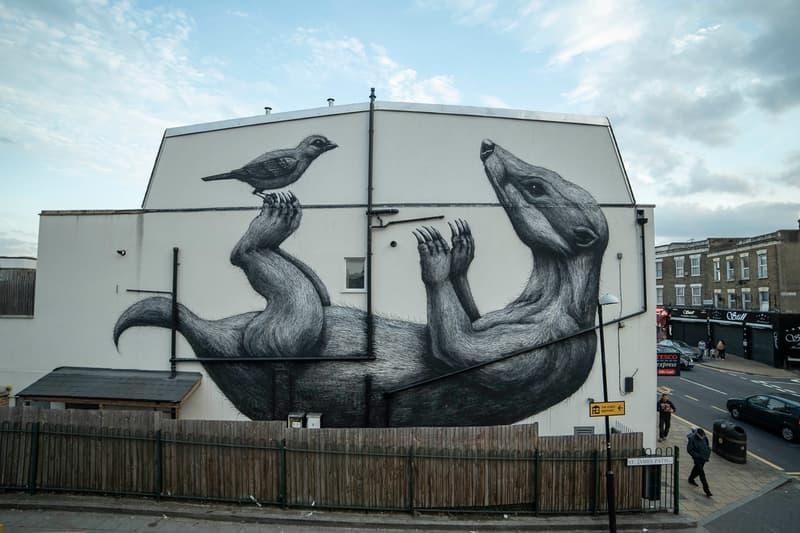london mural festival 2020 announcement dates information images ben eine mr doodle camille walala seb lester