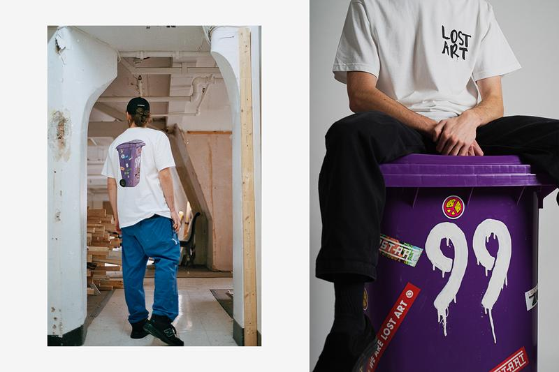 "Lost Art ""More than a D.A.I.S.Y. AGE"" Lookbook Collection Drop Release Information T-shirts ""Da Inner Sound Y'all"" ""20 Years"" ""DAISY AGE"" ""Mark's Sunflower"" Skateboarding Label Liverpool United Kingdom"