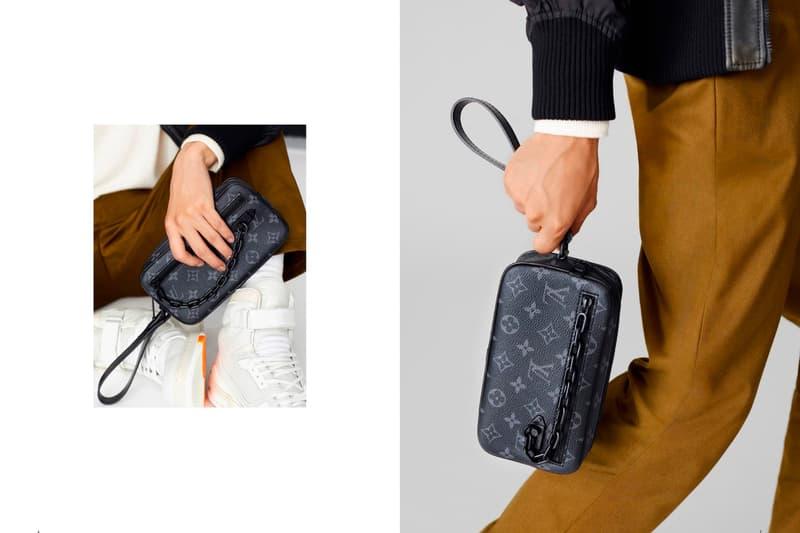Louis Vuitton New Classics Monogram Eclipse Release Virgil Abloh