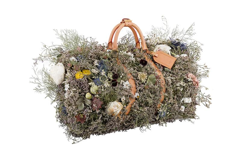 Louis Vuitton Spring/Summer 2020 Accessories Closer Look Bags Hats Shoes Sneakers Textile Scarfs Eyewear Glasses Millionaire Silhouette New Pieces Flower Holdall Duffle LV