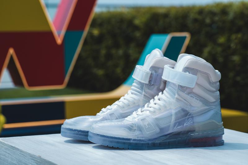 louis vuitton men early spring summer 2020 collection virgil abloh sneakers shoes jackets keepall bags trunks