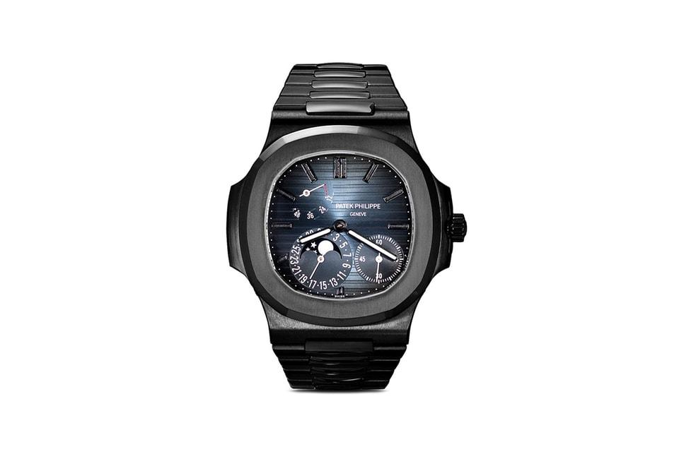 MAD Paris Crafts $200k USD Black Patek Philippe Nautilus 5712