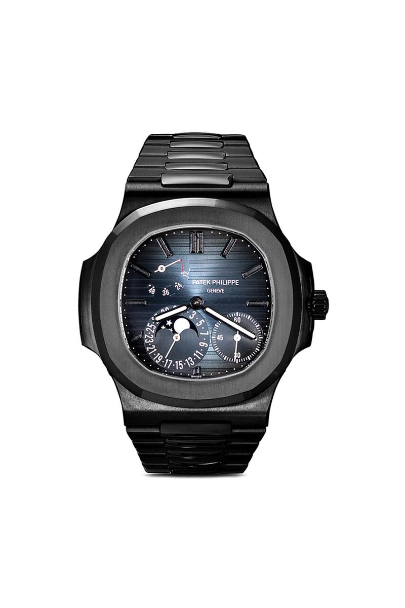 MAD Paris Black Patek Philippe Nautilus 5712 Watch Timepiece Wrist Custom Design Special Edition Limited Rare Expensive $203417 USD Browns Cop First Look