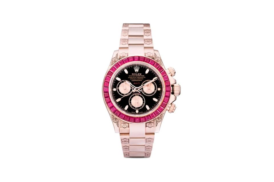 MAD Paris Crafts $115k USD Rolex Daytona With Ruby Sapphires