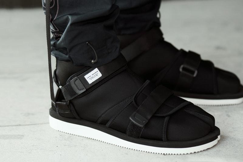 maharishi and Suicoke Showcase a Tabi Sandal and Boot