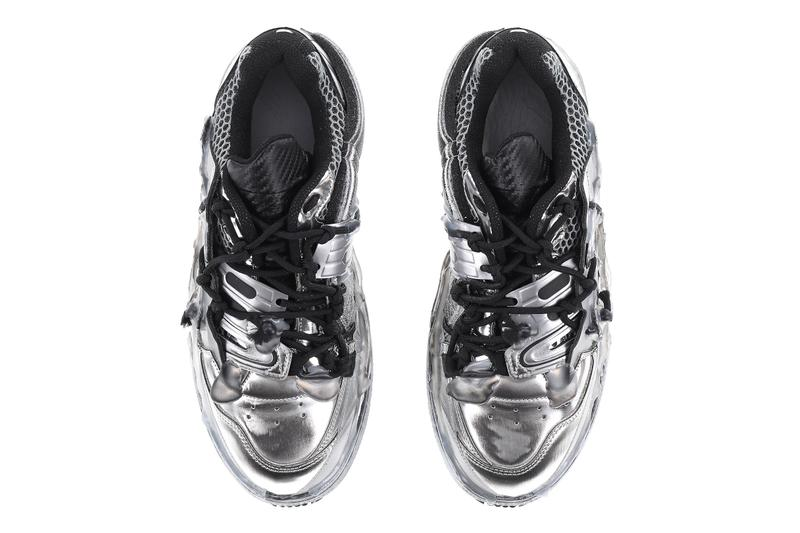 Maison Margiela Fusion Low Steel Grey Release  Nubian SSENSE footwear sneakers shoes kicks style